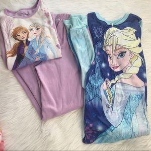 2 frozen pajamas, girls size 7-8